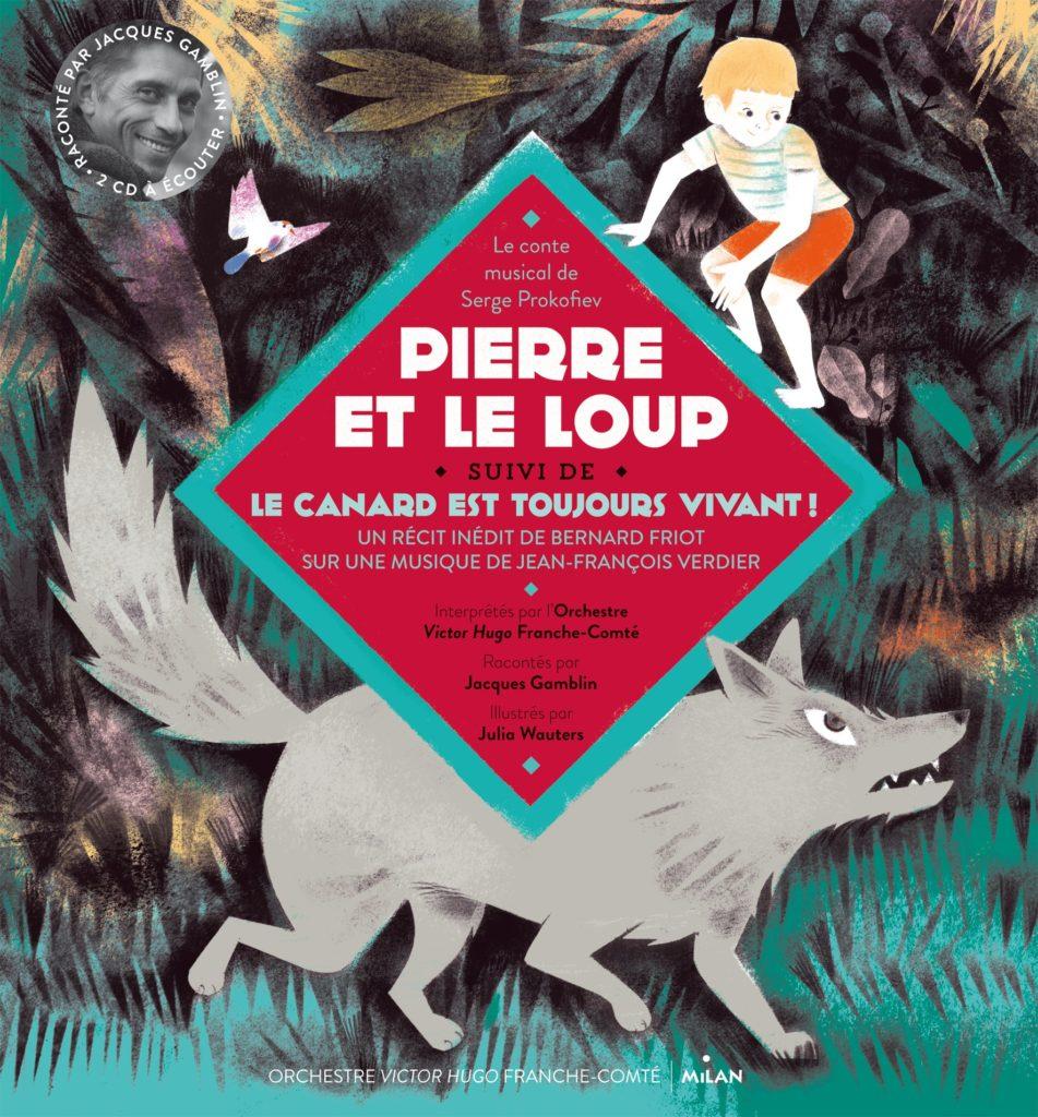 Photographie en référence au programme : Pierre et le canard